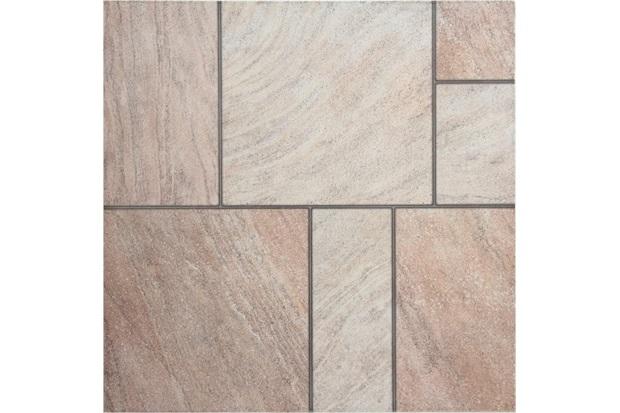 Piso malli bege 45 9x45 9cm unigres c c for Pisos ceramicos externos