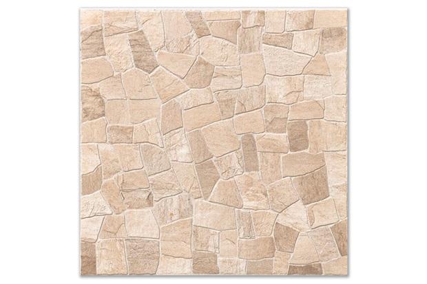 Piso mosaico hd esmaltado alto brilho marrom 53x53cm for Mosaico para piso