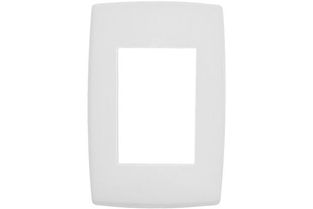 Placa para 3 Postos 4x2 Pialplus Branca - Pial Legrand