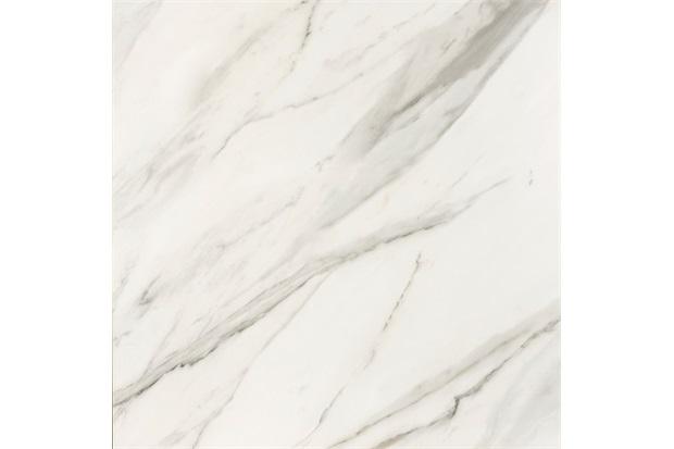 Porcelanato Baixo Brilho Borda Reta Carrara Polido 90x90cm