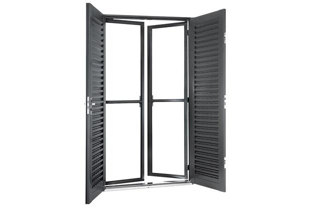 Porta balc o de abrir 4 folhas vitralfort pictures to pin for Porta 1 20