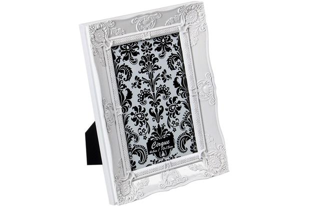 Porta Retrato Cirque Branco 10x15cm  - Importado