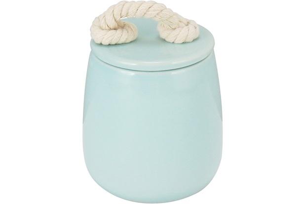 Pote de Cerâmica Potiche 10 Cm Azul - GS