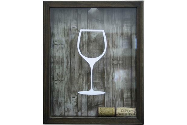Quadro Porta Rolha 22x27 Wine - Kapos