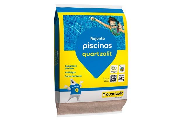 Rejunte Piscina Branco 5kg - Quartzolit