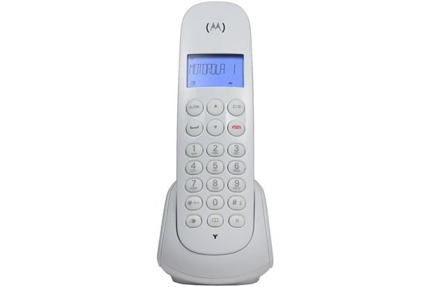 Telefone sem Fio com Identificador de Chamadas Moto700-W Branco - Motorola