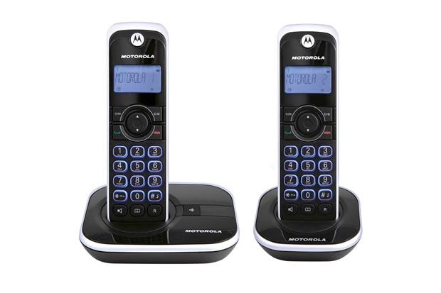 Telefone sem Fio Gate com Identificador de Chamadas Preto 4500mrd2  - Motorola