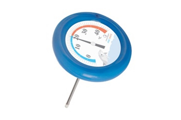 Term metro para piscina 5 45 c redondo azul incoterm c c for Termometro piscina