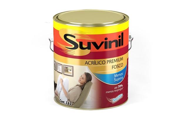 Tinta Acrílica Fosco Suvinil 3,6 Litros - Suvinil