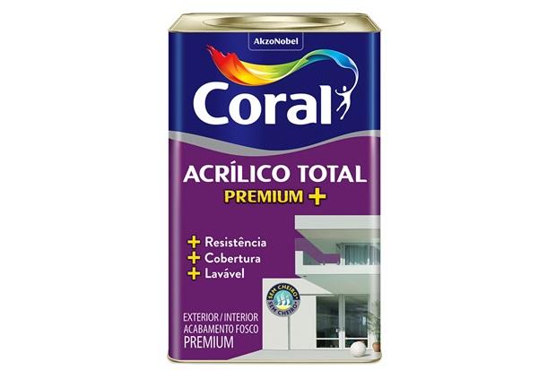 Tinta Acrílica Total Fosco Algodão Egípcio 18 Litros  - Coral