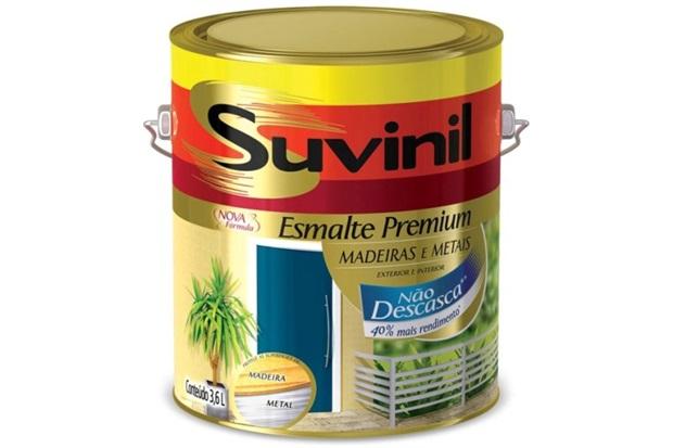 Tinta Esmalte Acetinado Suvinil 3,6 - Suvinil