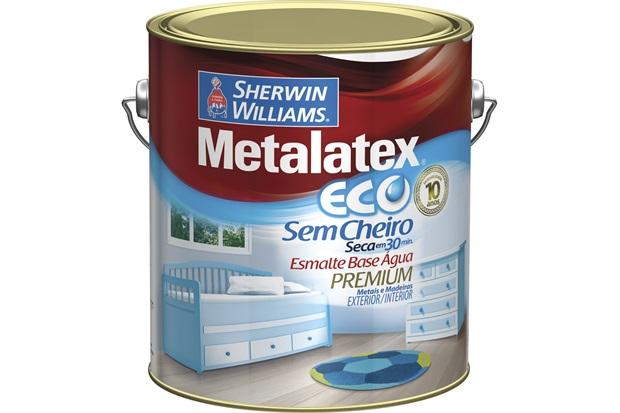 Tinta Esmalte Eco Acetinado Branco 3,6l - Sherwin Williams