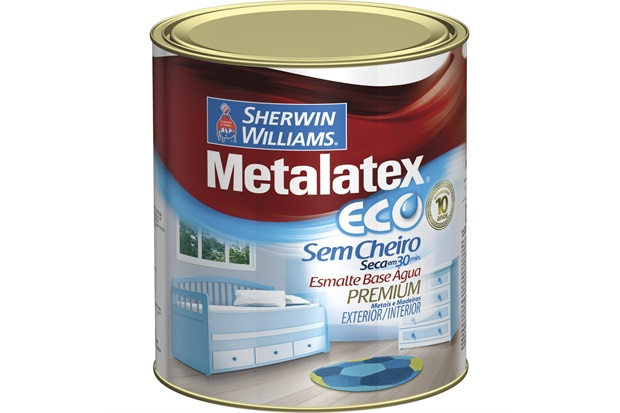 Tinta Esmalte Eco Alto Brilho  900ml - Sherwin Williams