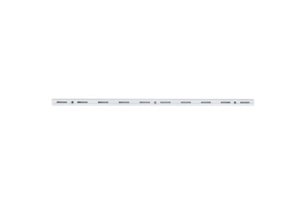 Trilho para Prateleira Versátil em Aço Branco 50cm - Fico Ferragens