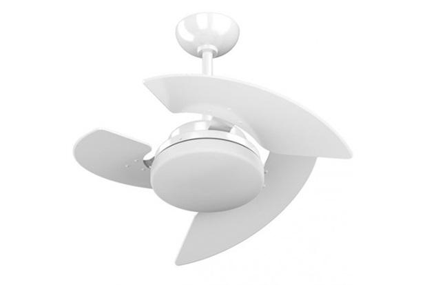 Ventilador Aventador 3 Pás E Controle de Velocidade Branco 220v  - Tron