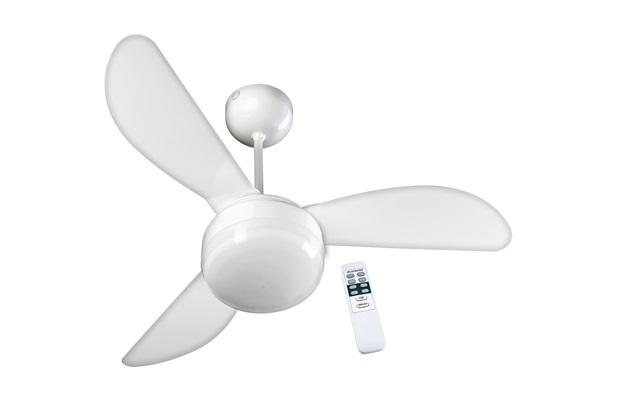 Ventilador de Teto com Controle Remoto Santorini Branco 127v - Casanova