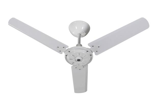 Ventilador de Teto Comercial Eco San 3 Pás Branco sem Iluminação 110v - Tron